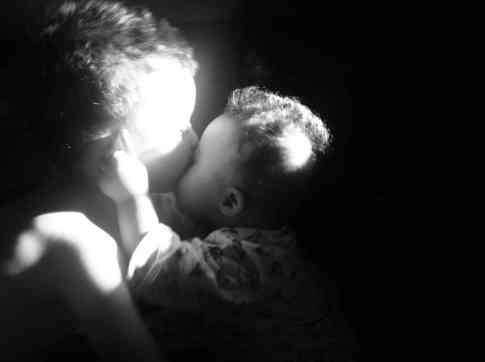 boys kiss